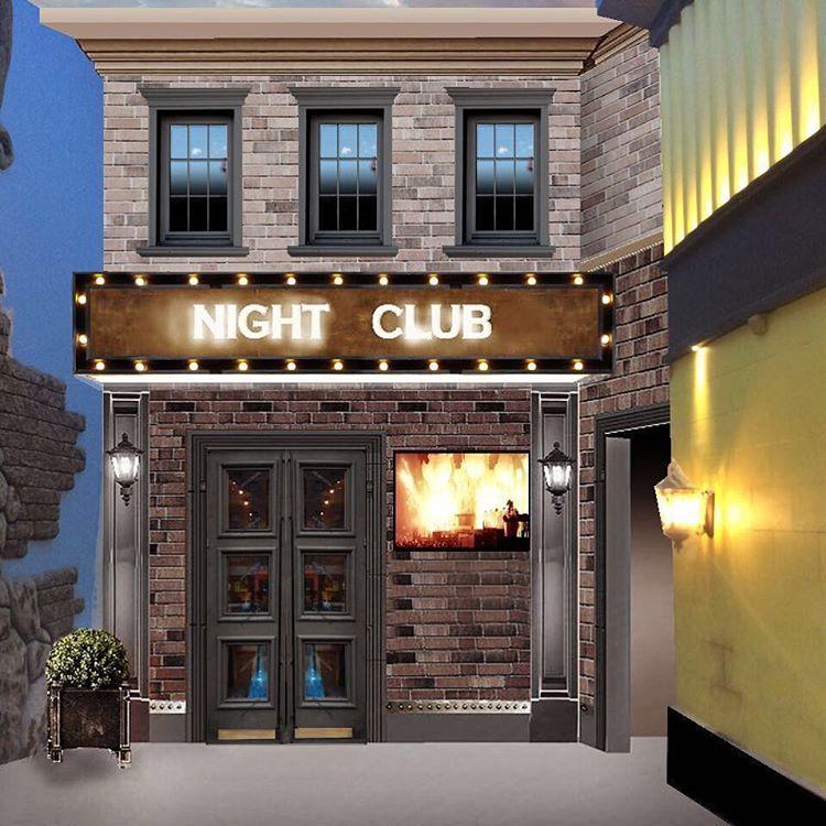 cсветодиодная вывеска night club